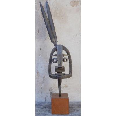 """Sculpture """"Art Récup"""" Fernand ROLLAND 1920/2004"""