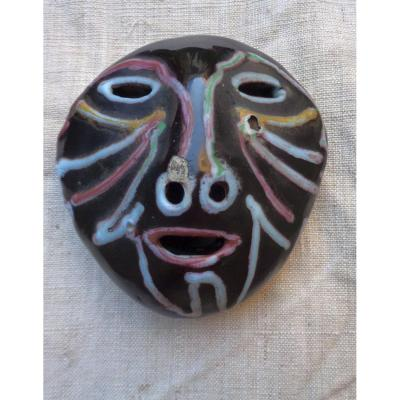 Poterie d'Accolay:  Masque africain