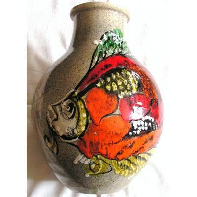 Vase céramique. Création Augé Bretagne CAB