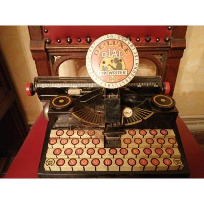 Machine à écrire Jouet Américain 1930