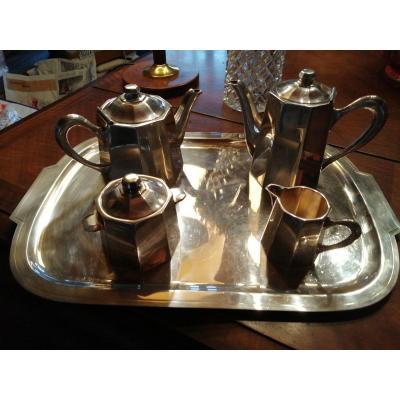 Service Complet à Thé-café Maison Ercuis Circa 1930