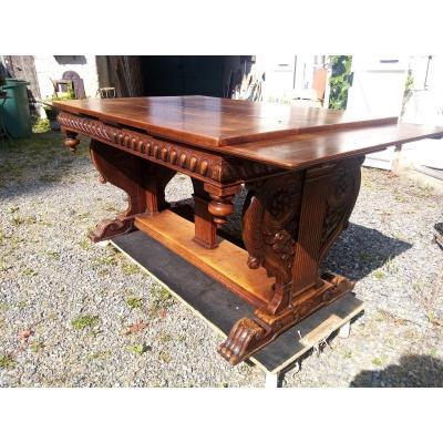 Table à Patin Modèle Renaissance 19 Eme