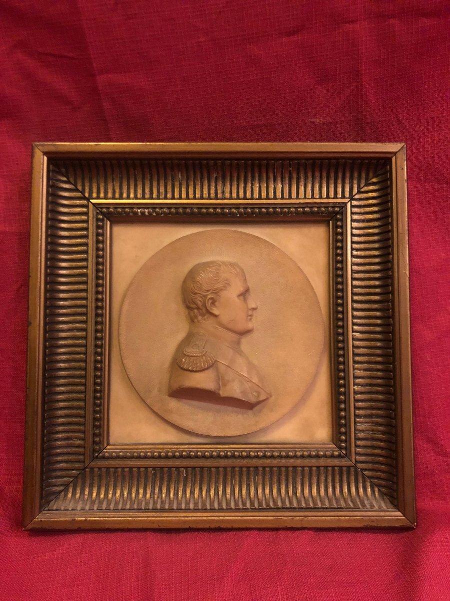 Portrait Painting Napoleon Bonaparte Pierre Sculptee XIX