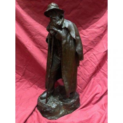 Grande Sculpture Bronze Marius Remondot