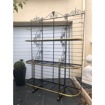 Wrought Iron Bakery Grid
