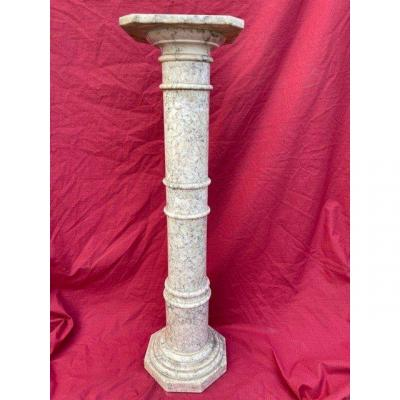 Old Harness Column In Marble XIX