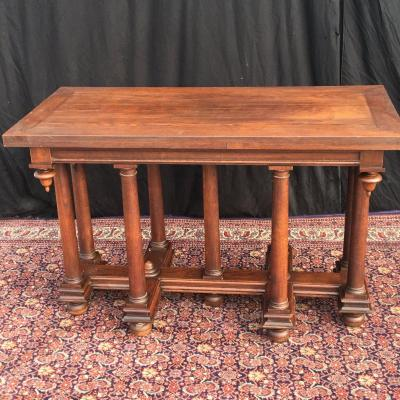 Renaissance Italian Table In Oak