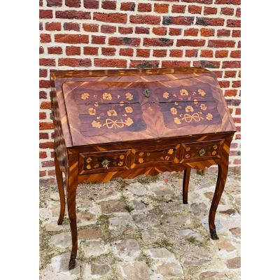 Dubois Jacques Louis XV Period Slope Desk Stamped
