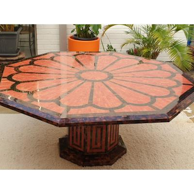 Large Octagonal Table