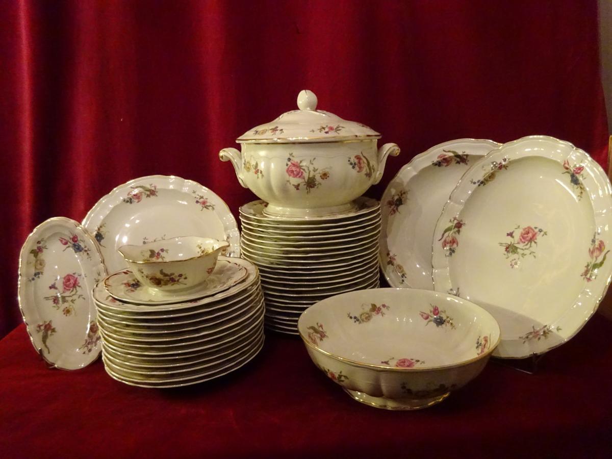 Service De Table En Porcelaine De Limoges Bernardaud