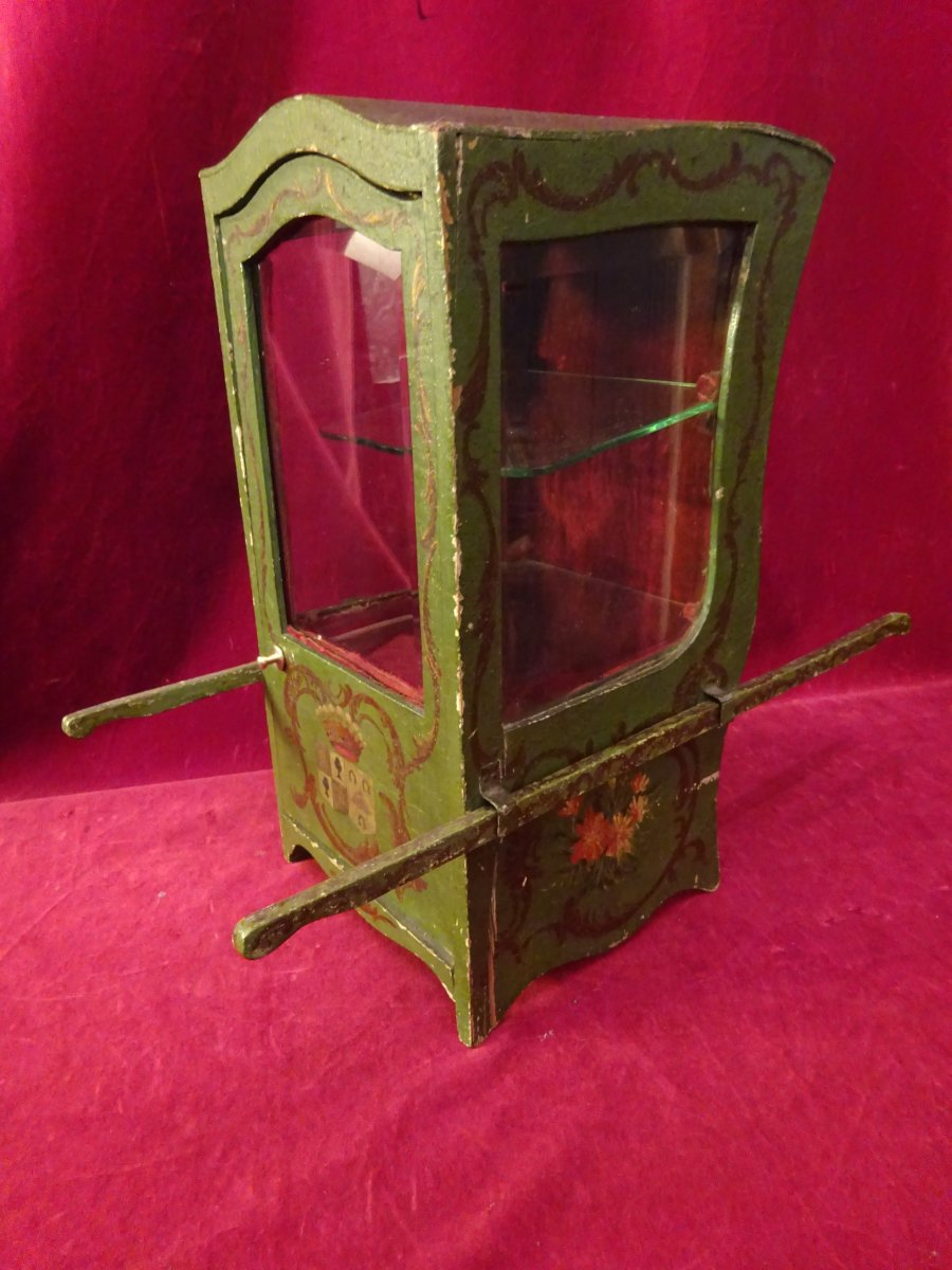 Carrier Chair Forming Showcase Time Late Nineteenth Century