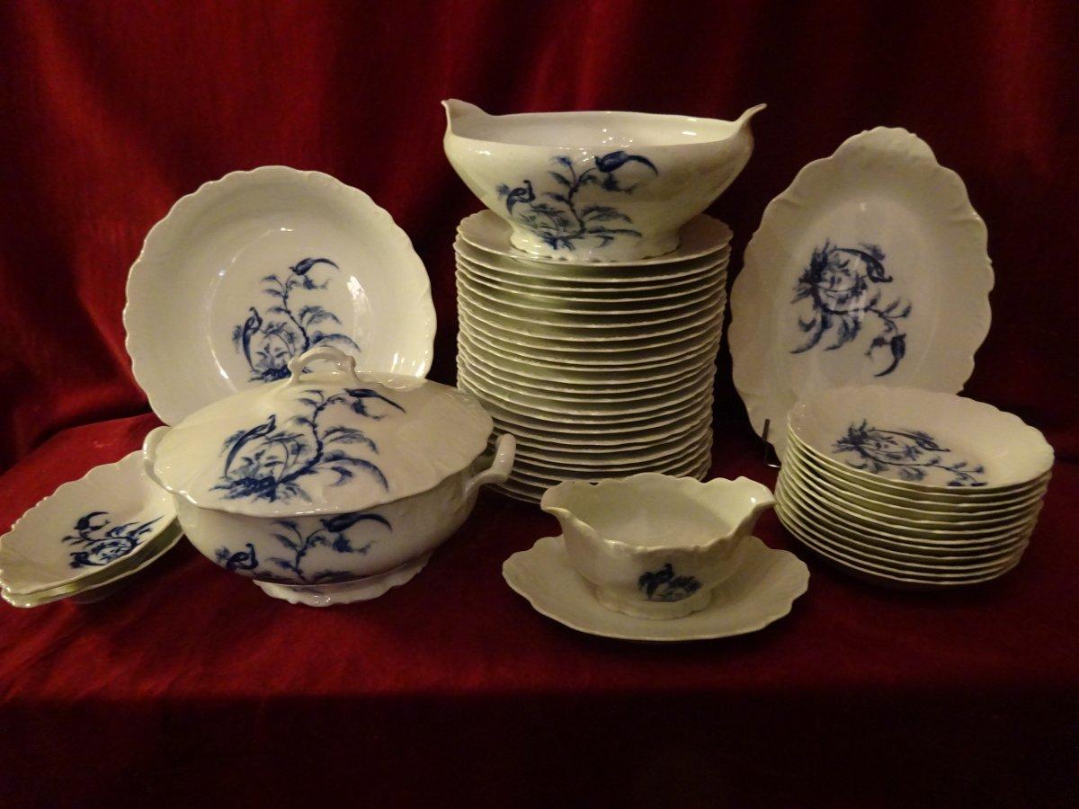 Service Table En Porcelaine De Limoges