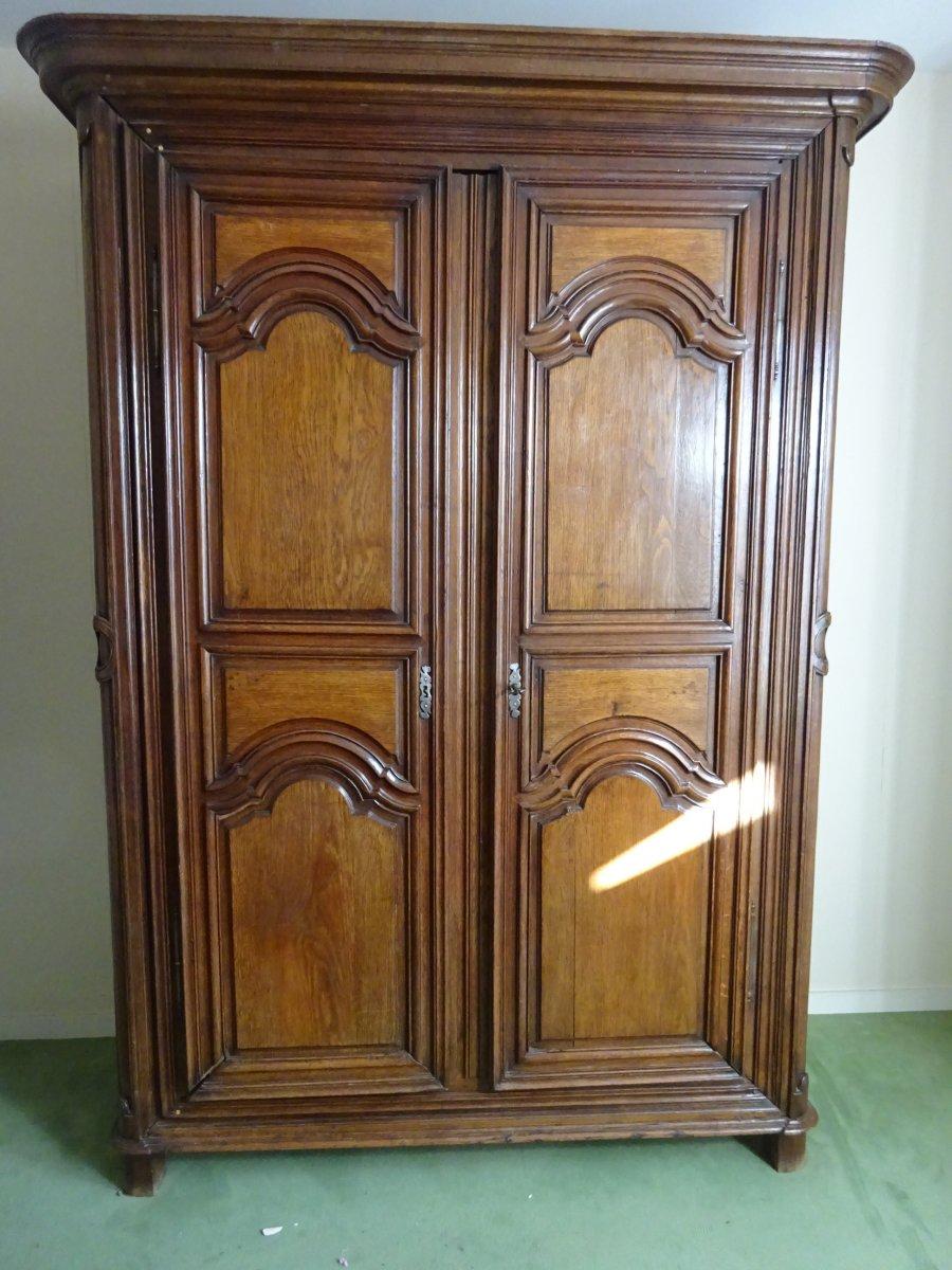 Regency Period Oak Wardrobe