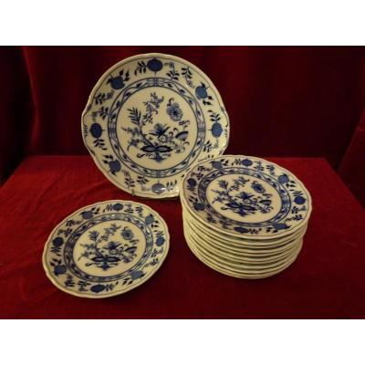 service à dessert porcelaine de  Bavière modèle