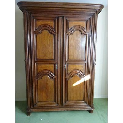 Regency Period Oak Wardrobe