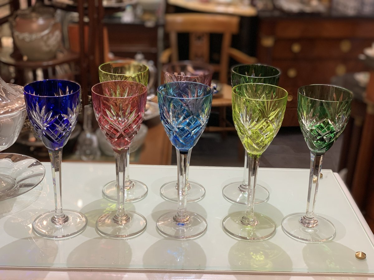 Chantilly St Louis Glasses