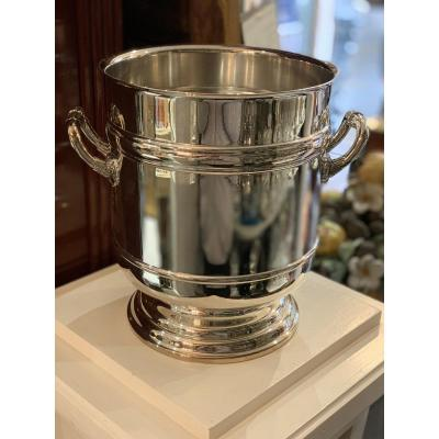 Champagne Bucket Christofle Sully