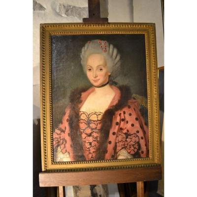 Portrait  Femme 18e
