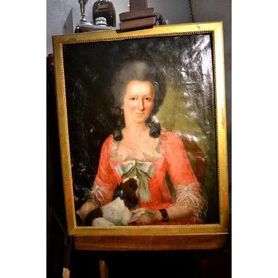 Portrait Of Woman Eighteenth