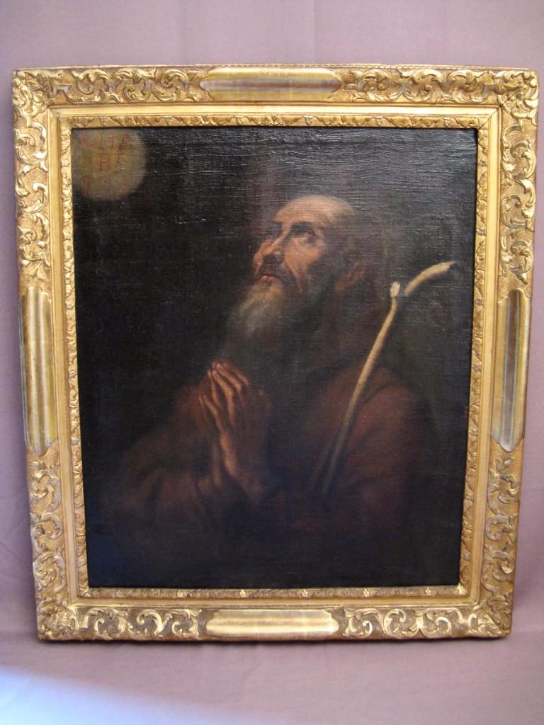 Table Ecstasy Of St. Augustine After Gaspar De Crayer