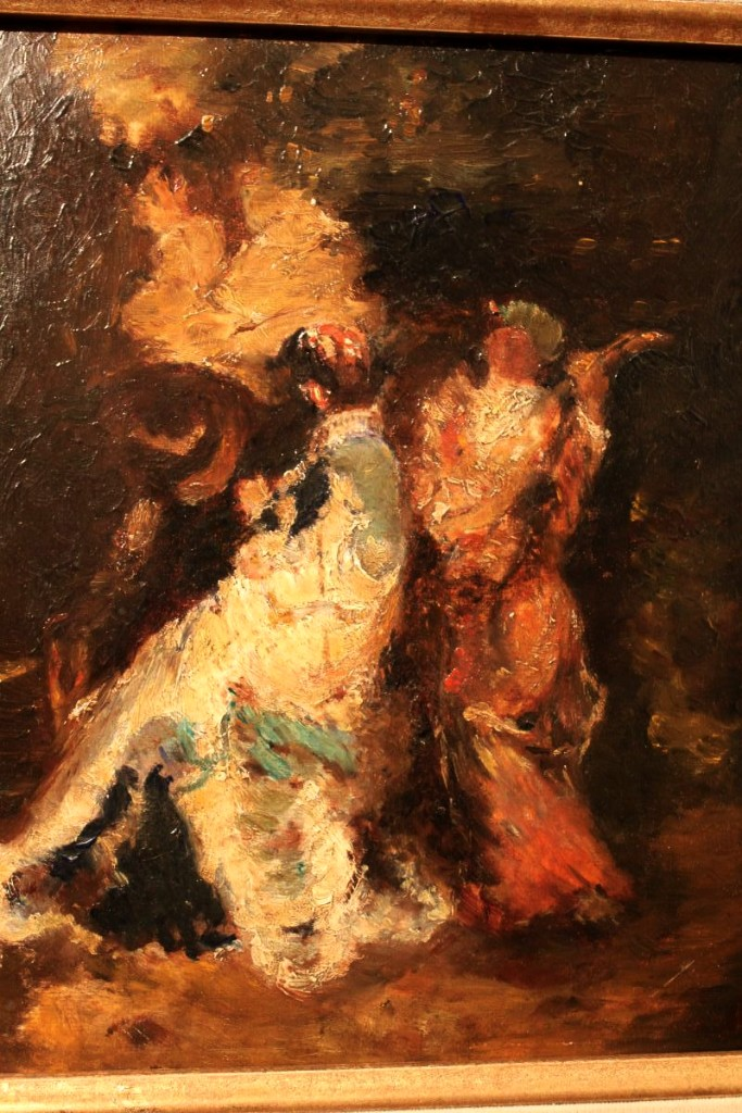 Oil On Cardboard By Adolphe Monticelli-photo-4