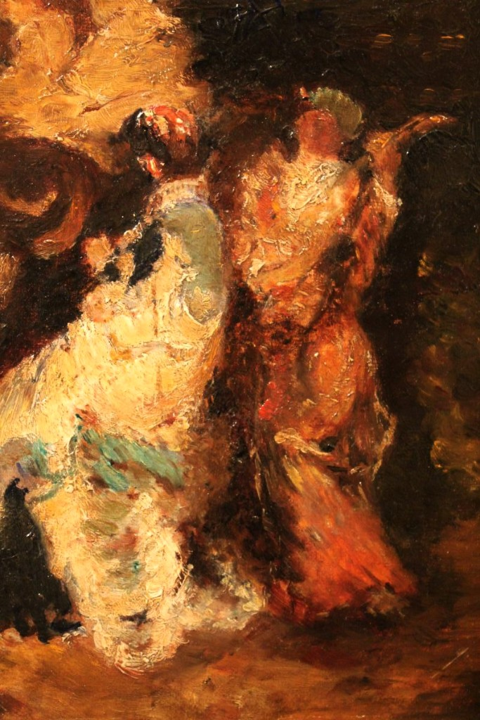 Oil On Cardboard By Adolphe Monticelli-photo-1