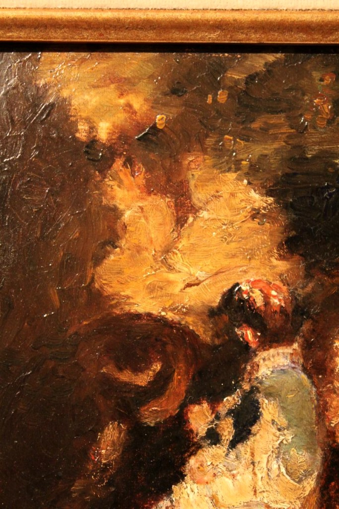 Oil On Cardboard By Adolphe Monticelli-photo-2