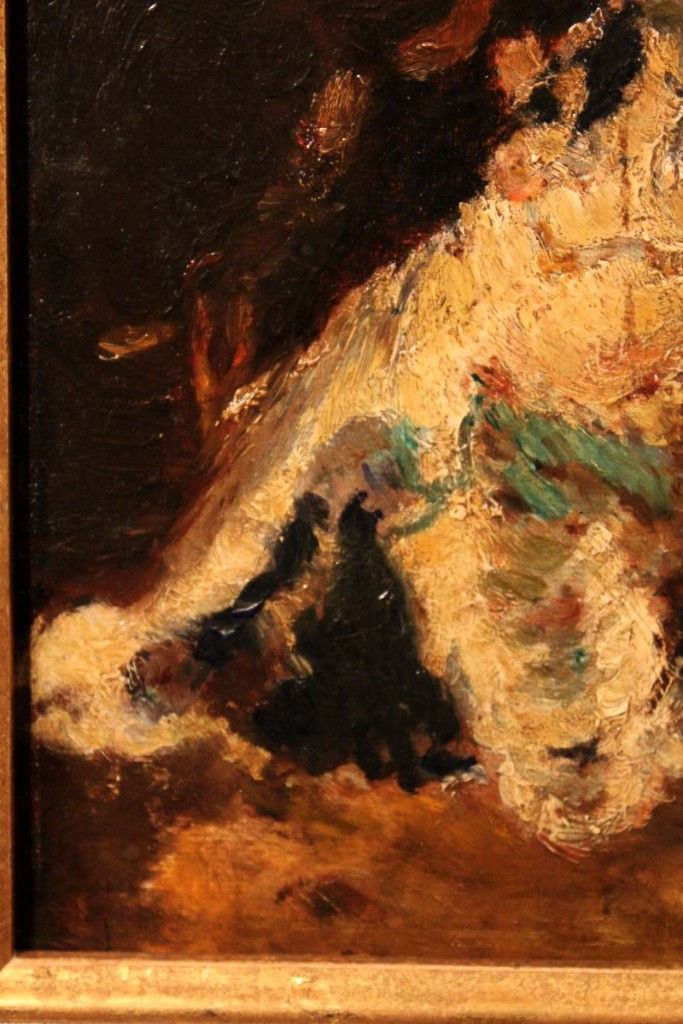 Oil On Cardboard By Adolphe Monticelli-photo-5