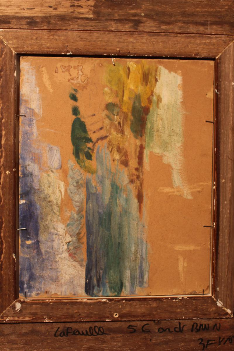 Oil On Cardboard By Adolphe Monticelli-photo-6