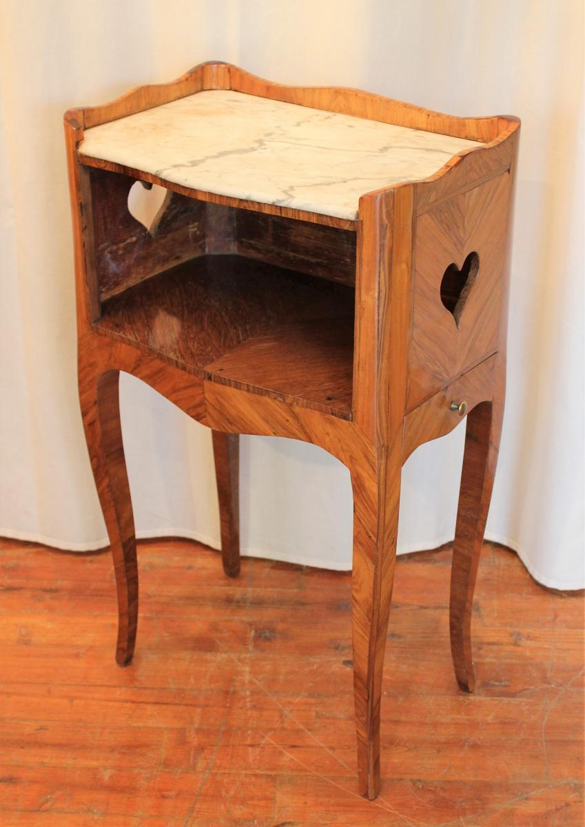 Bedside Inlaid Louis XV Period