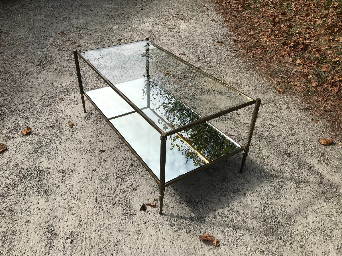 Coffee Table In The Style Of Jansen Design 1970s-photo-4