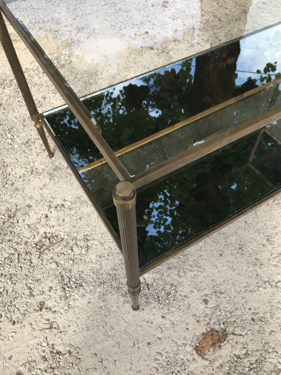 Coffee Table In The Style Of Jansen Design 1970s-photo-3