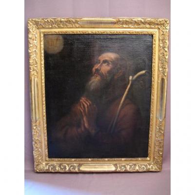 tableau l'extase de saint Augustin d'après Gaspard de Crayer
