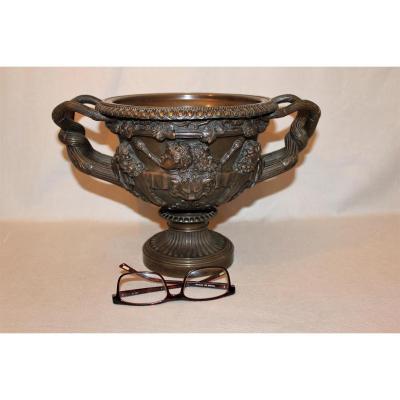 Coupe en bronze signée Auguste Delafontaine XIX siècle
