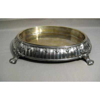 Silver Metal Centerpiece Argit Silversmith Early 20th Century