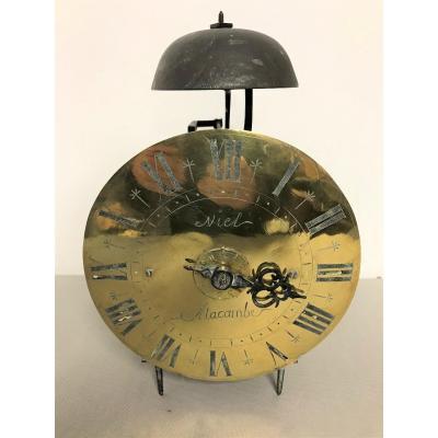 Pendule lanterne époque XVIIIème siècle