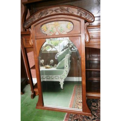 Art Nouveau Mirror.
