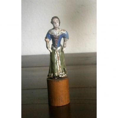 Spun Glass Said From Nevers XVIII Eme.