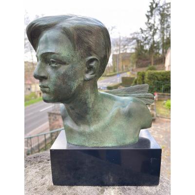 Buste Bronze À.gori