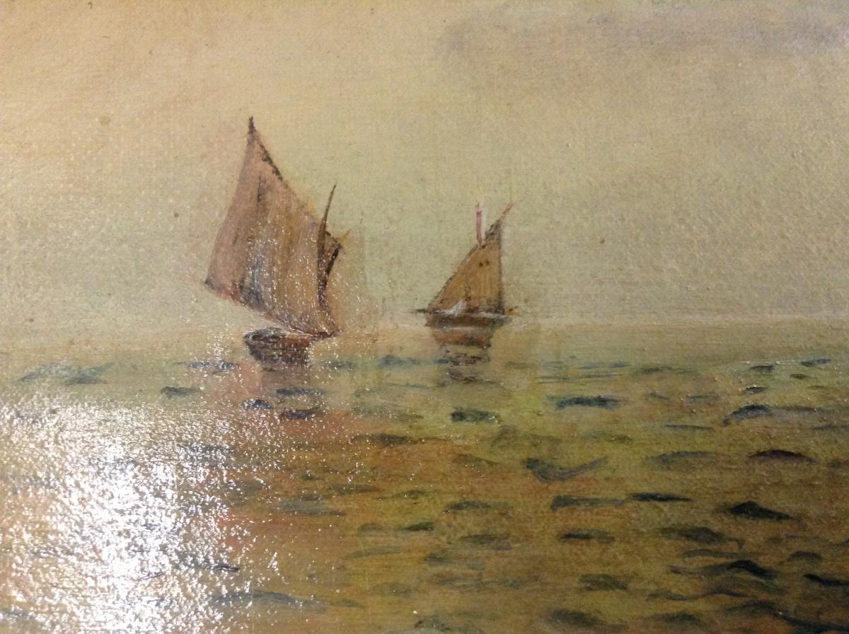 Petite Marine Datée 1905-photo-4