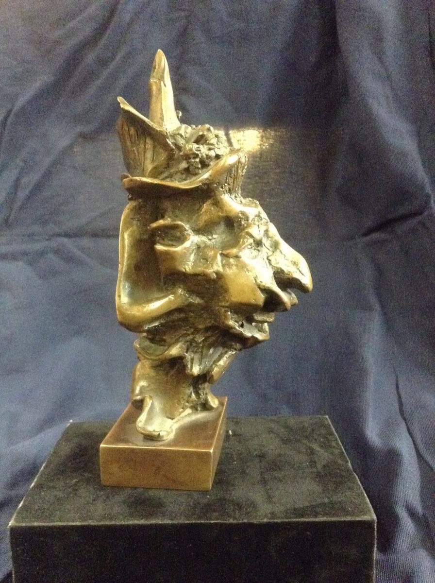 Bronze Contemporain Signé Segeron Numéroté 4/8