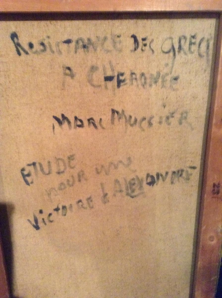 Résistance Des Grecs à Cheronée, Par Marc Mussier-photo-4