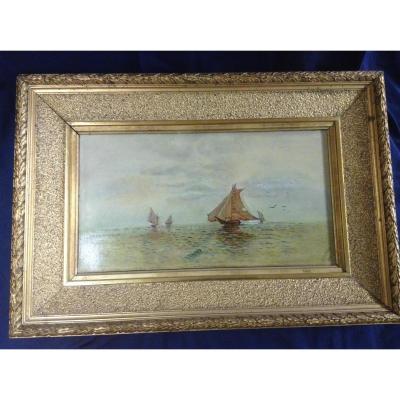 Petite Marine Datée 1905