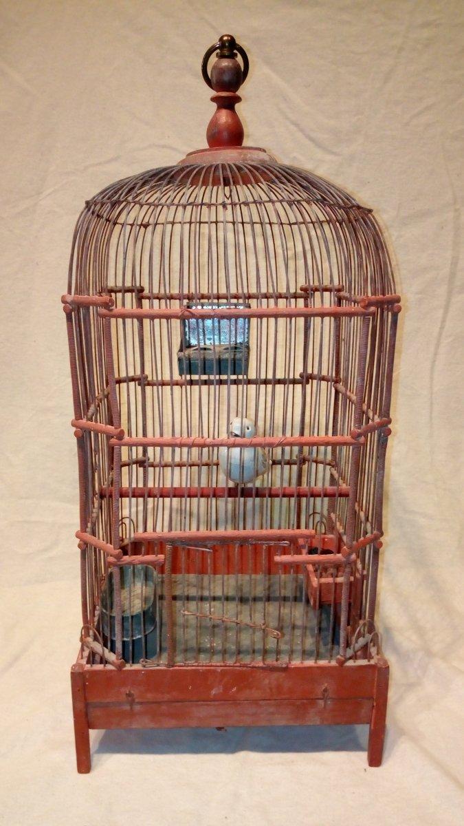 Cage à oiseaux fin 18è.