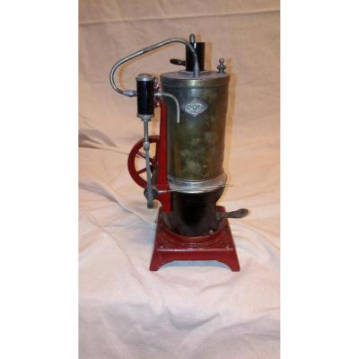Steam Engine In Reduced Model.