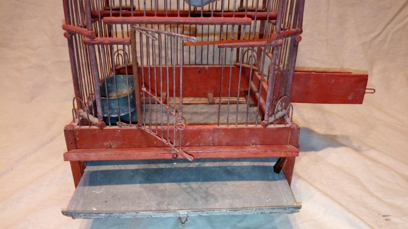 Cage à oiseaux fin 18è.-photo-3