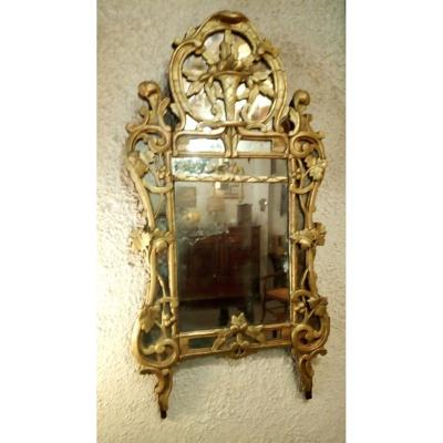 """Provençal Mirror, Known As """"beaucairois"""", 18th Time"""
