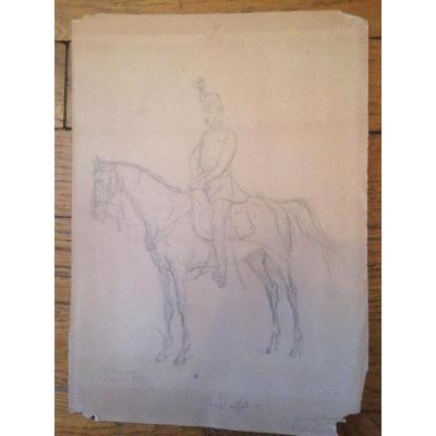 dessin crayon Raffet