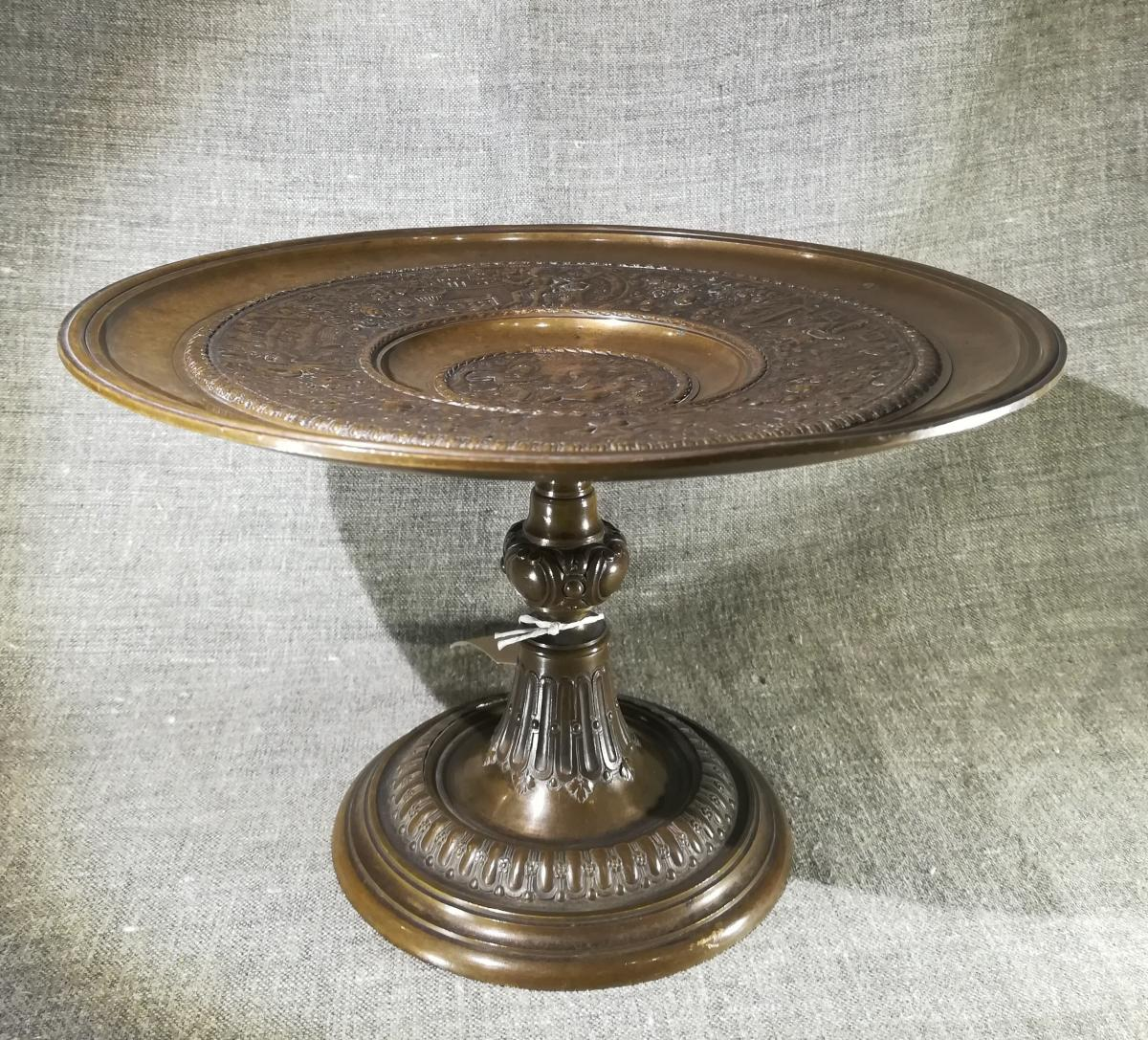 Coupe sur pied en Bronze de Style Renaissance