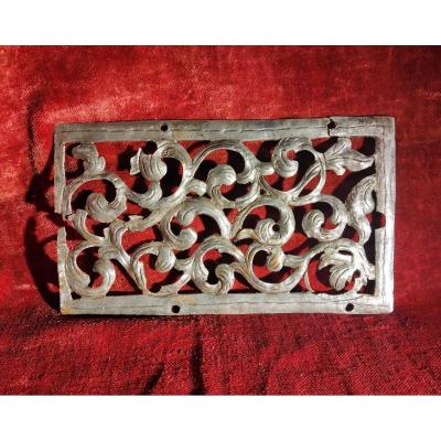 Large Haute Epoque Iron Wall Plate